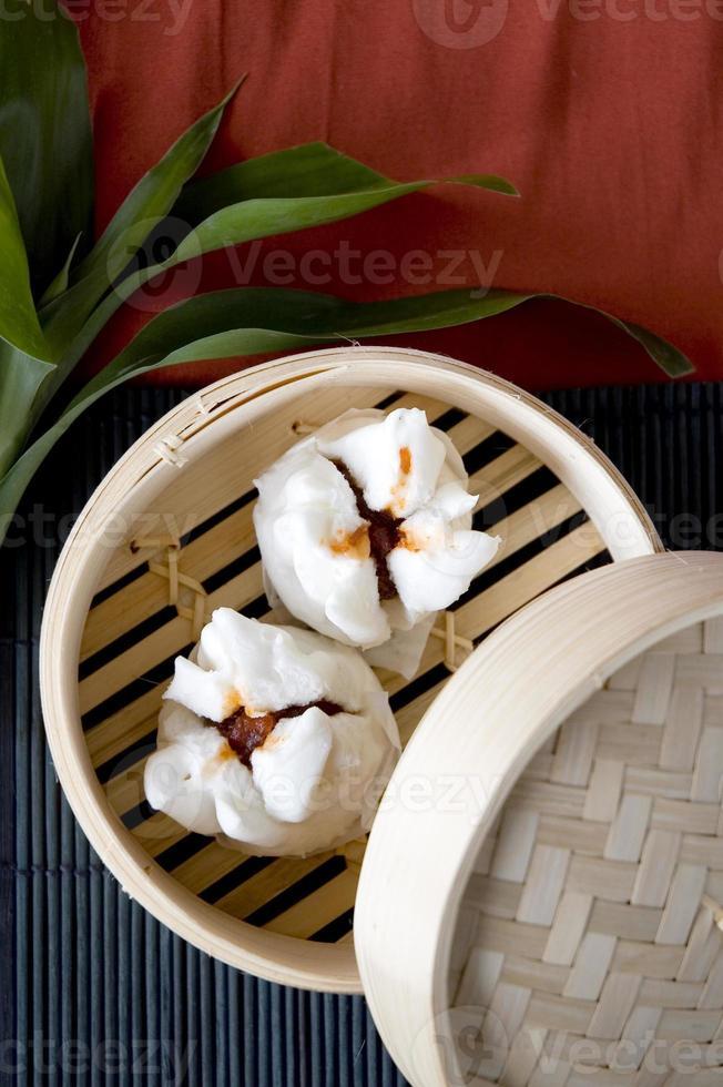 salapao comida chinesa foto