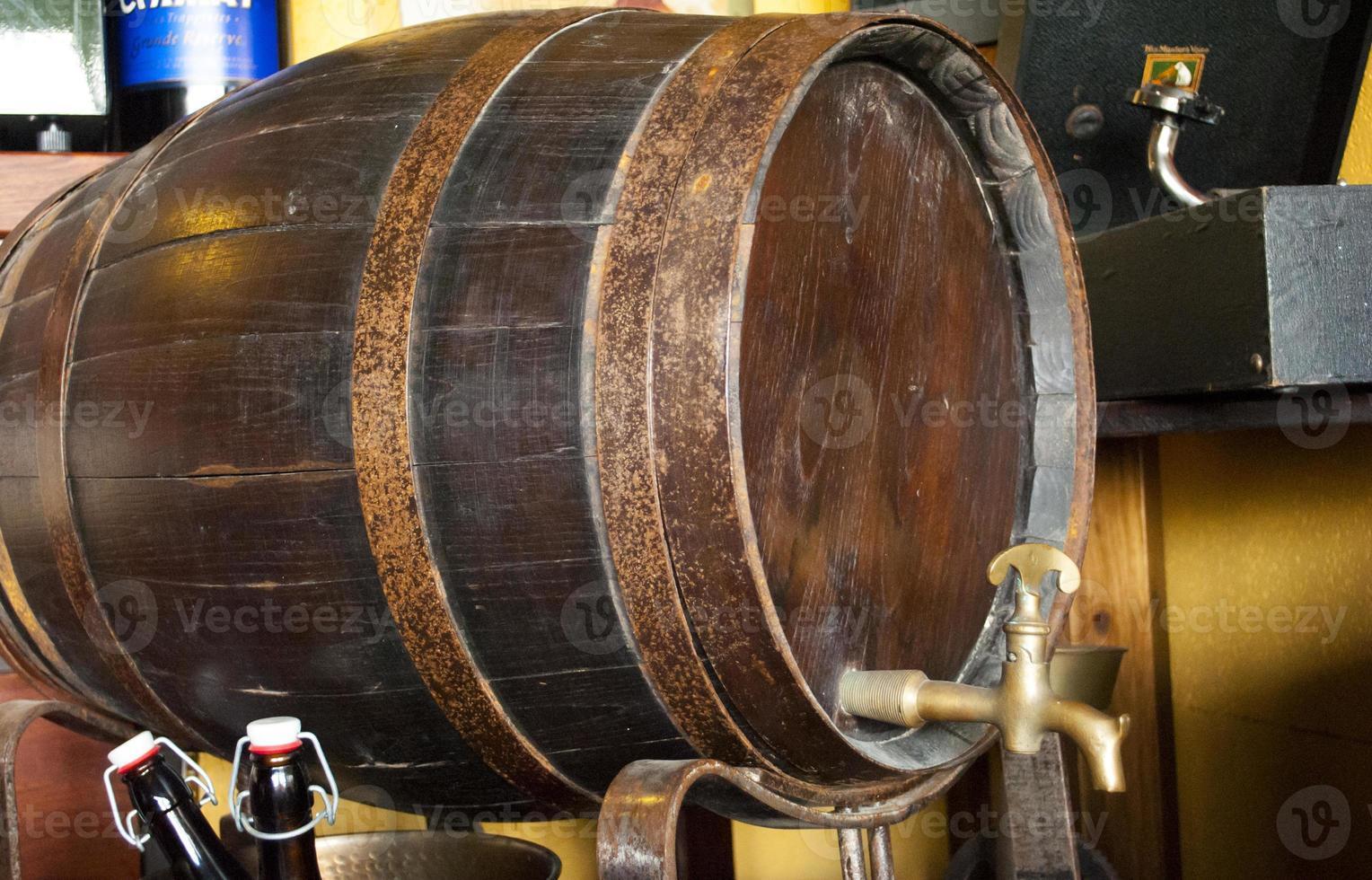 barril de cerveja foto