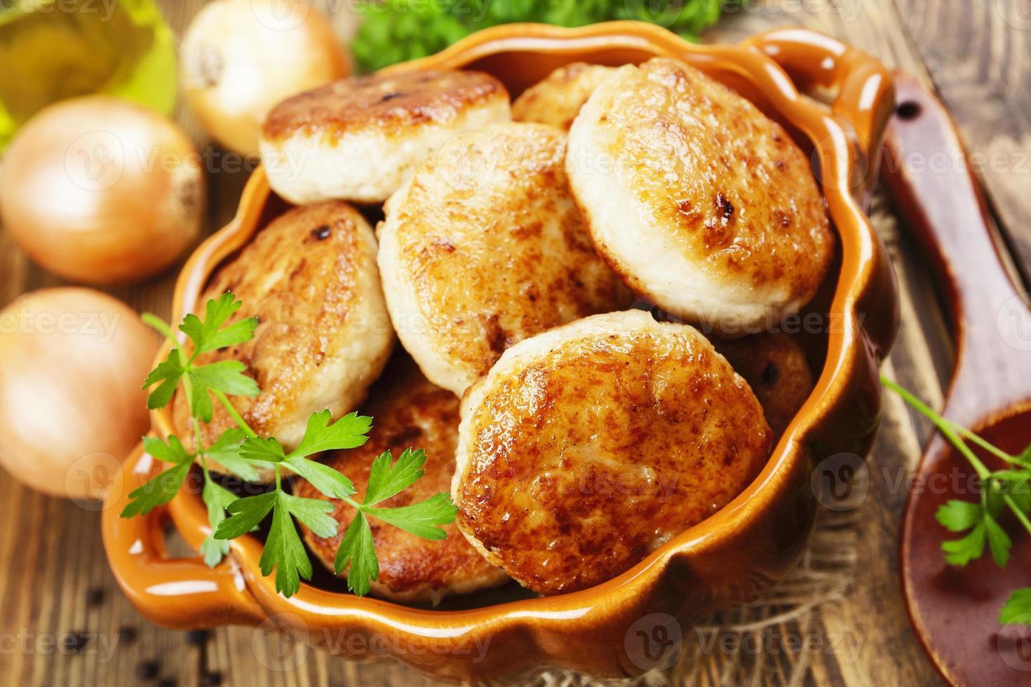 rissóis de frango foto
