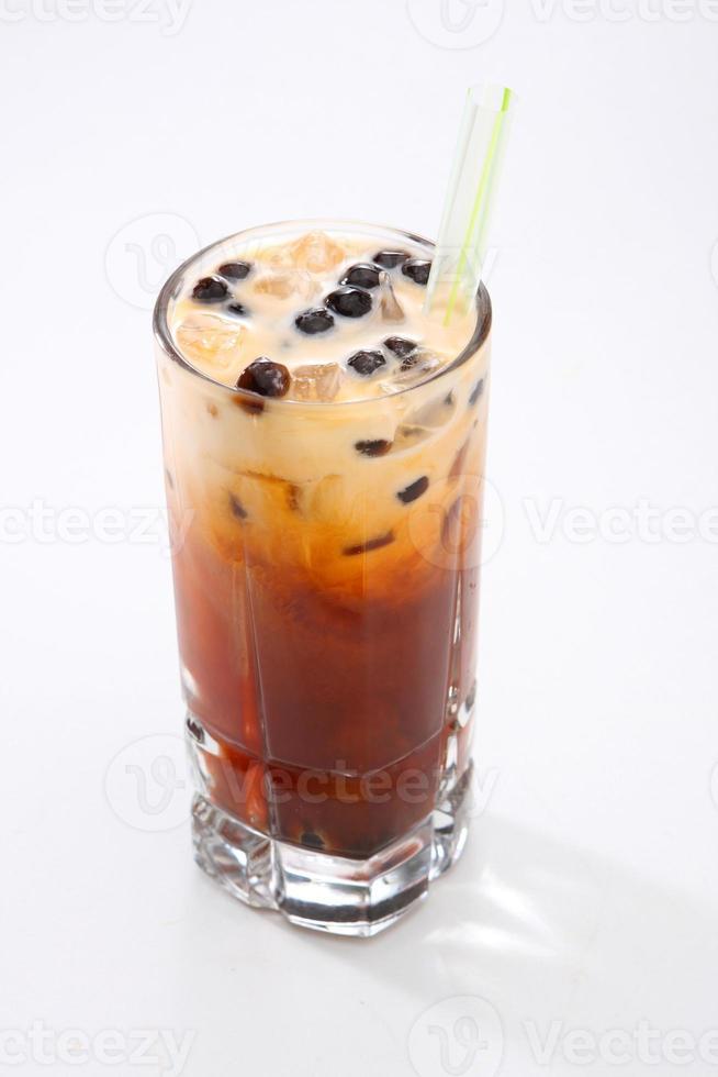 chá gelado tailandês foto