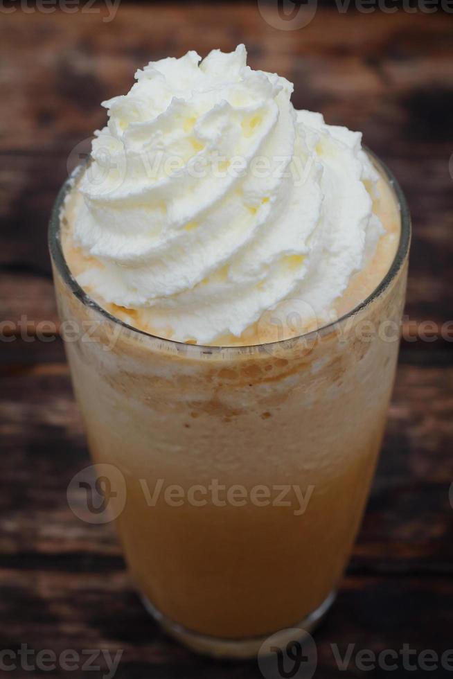 smoothie de cappuccino foto