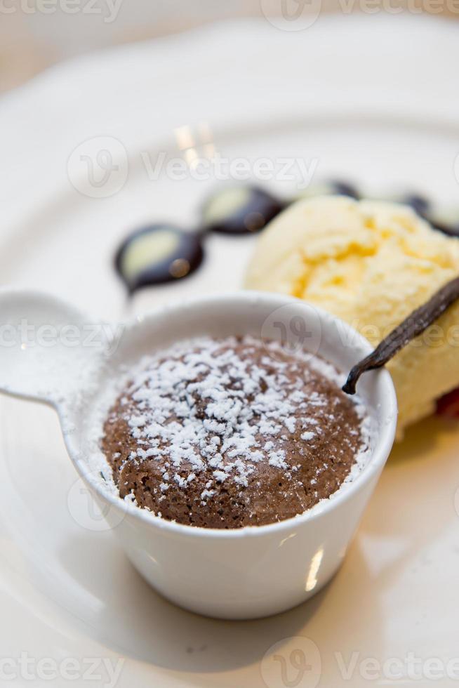 fondue de chocolate doce sobremesa foto