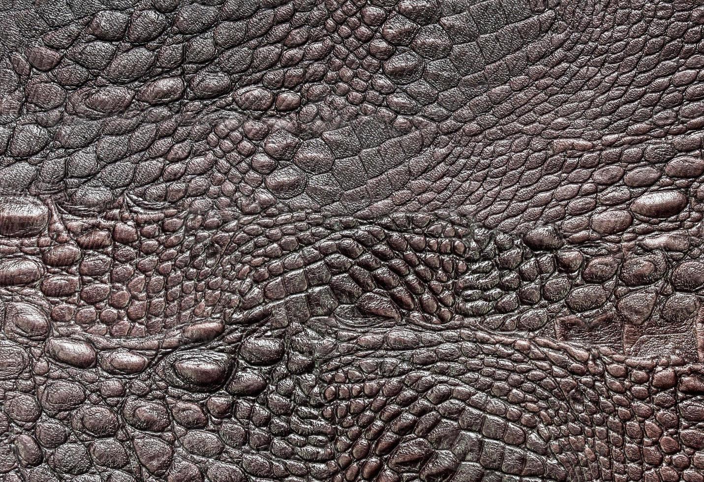 couro de crocodilo foto