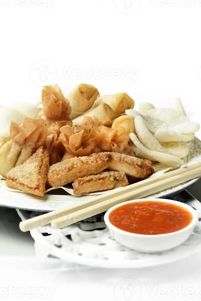 seleção de comida chinesa ii foto