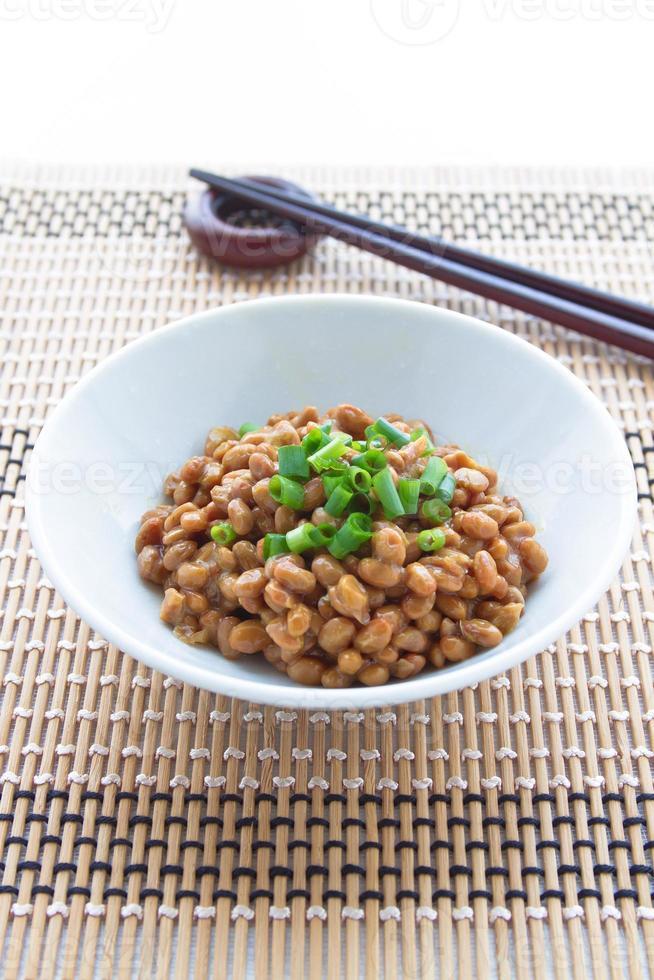 natto, soja fermentada foto