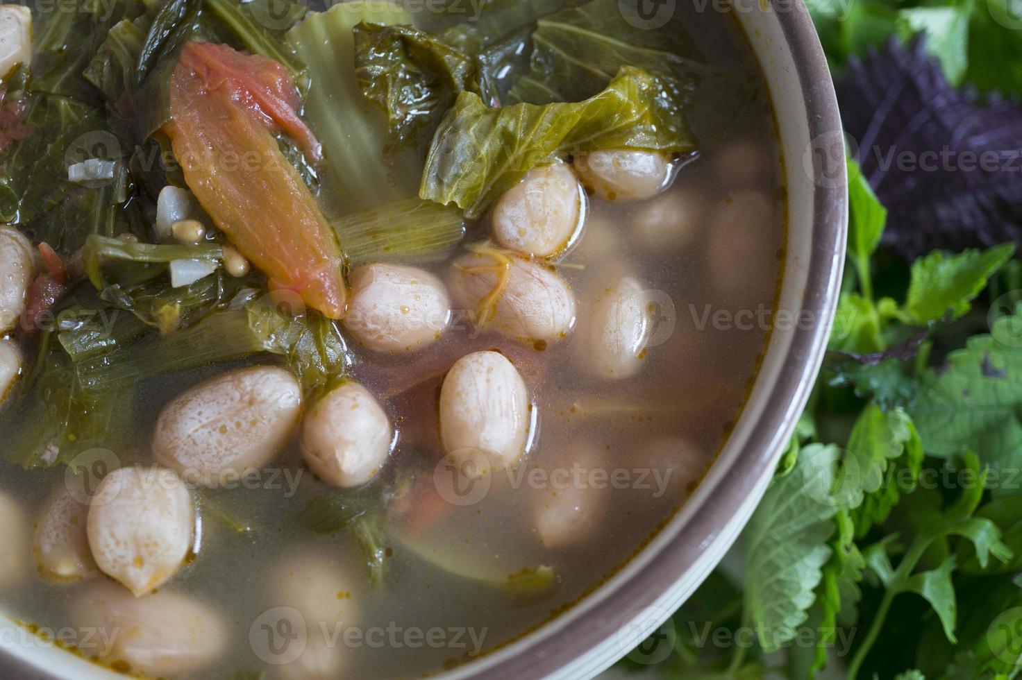 sopa de picles - comida vegana foto