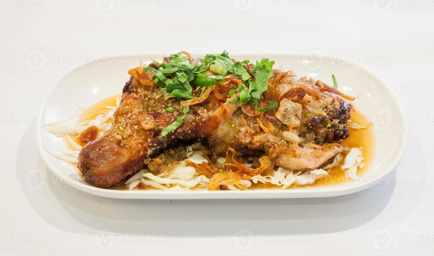 caril de frango tailandês foto
