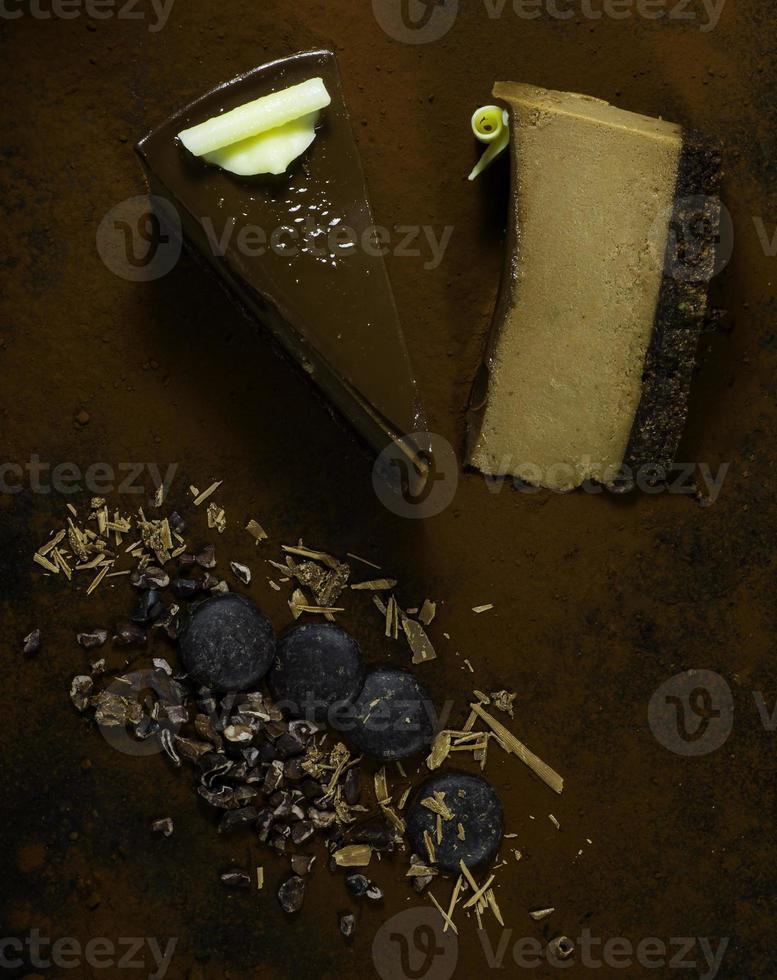 Torta de chocolate foto