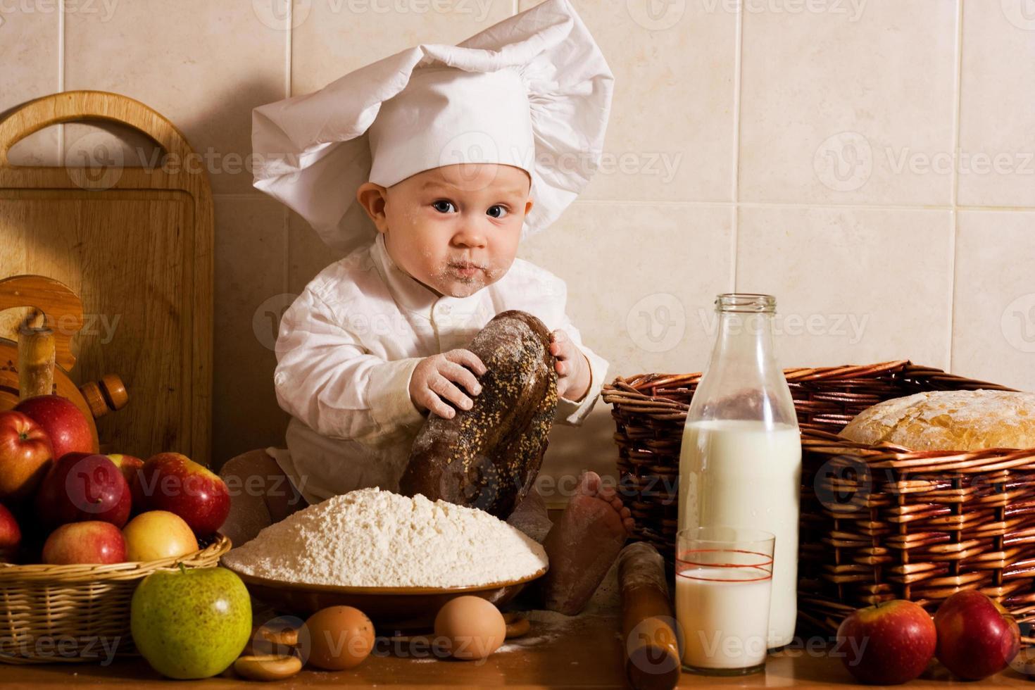 pouco cozinheiro foto