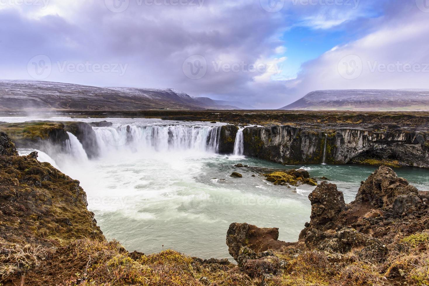 godafoss, islândia foto