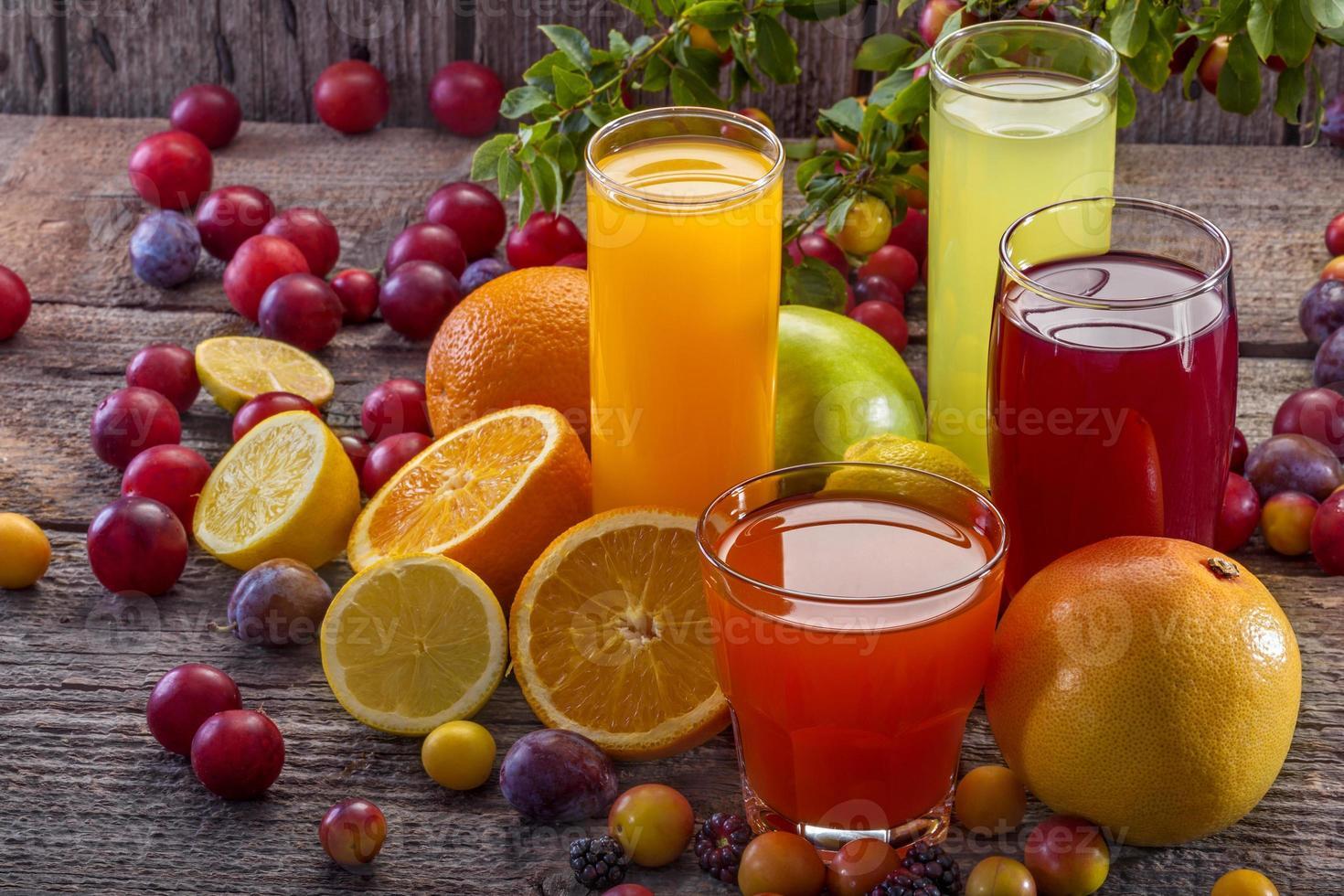 sucos antioxidantes foto