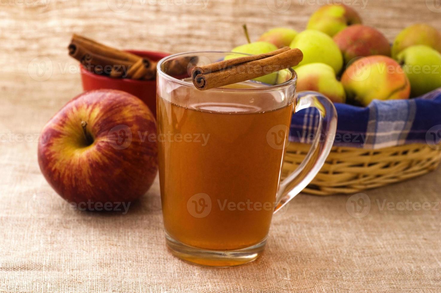 cidra de maçã foto