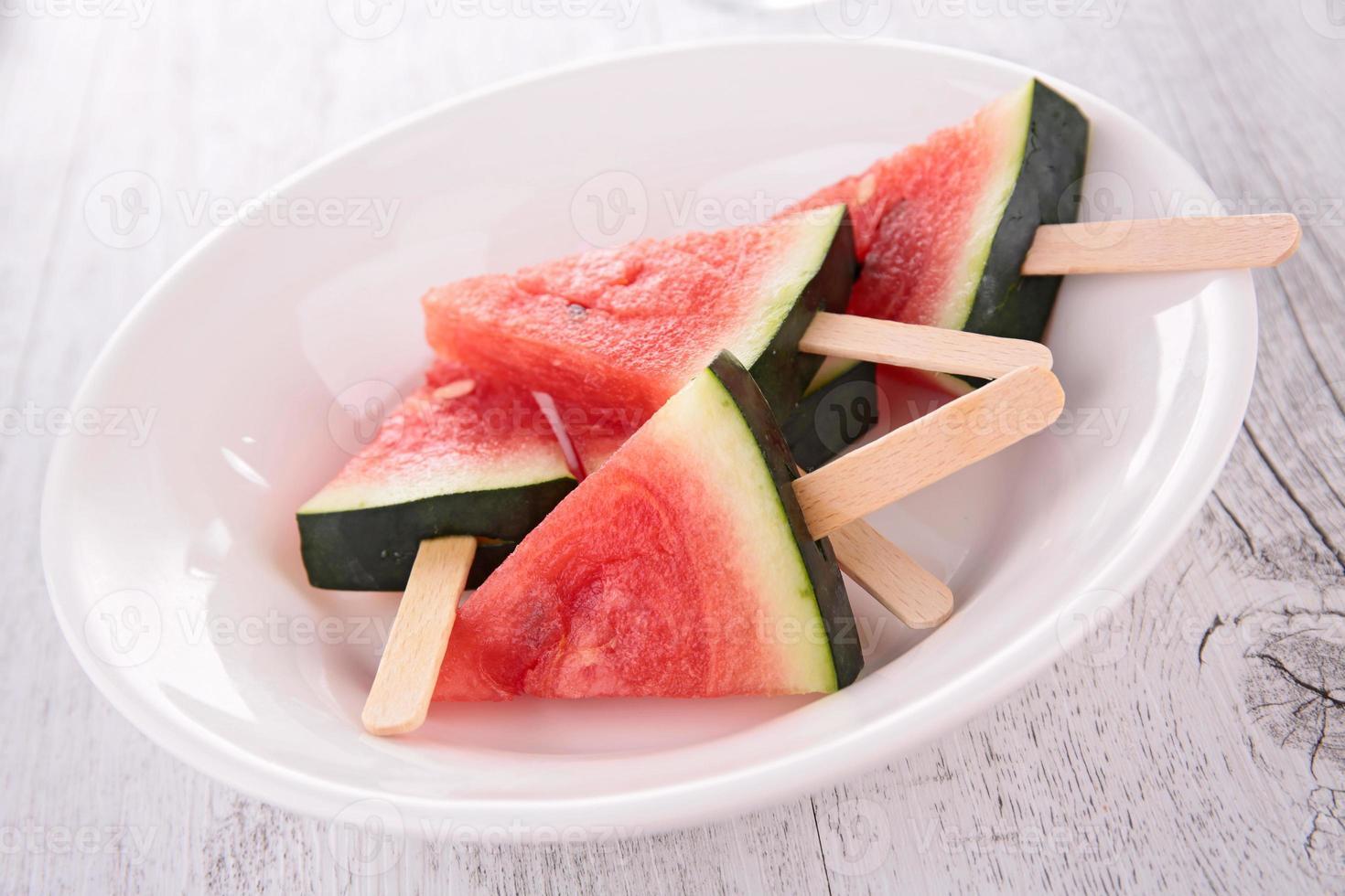 sorvete de melancia foto