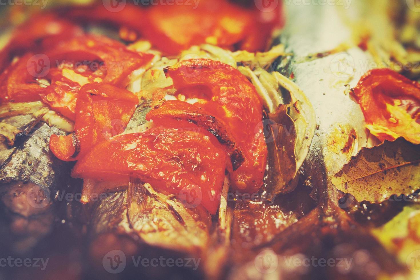 peixe assado foto