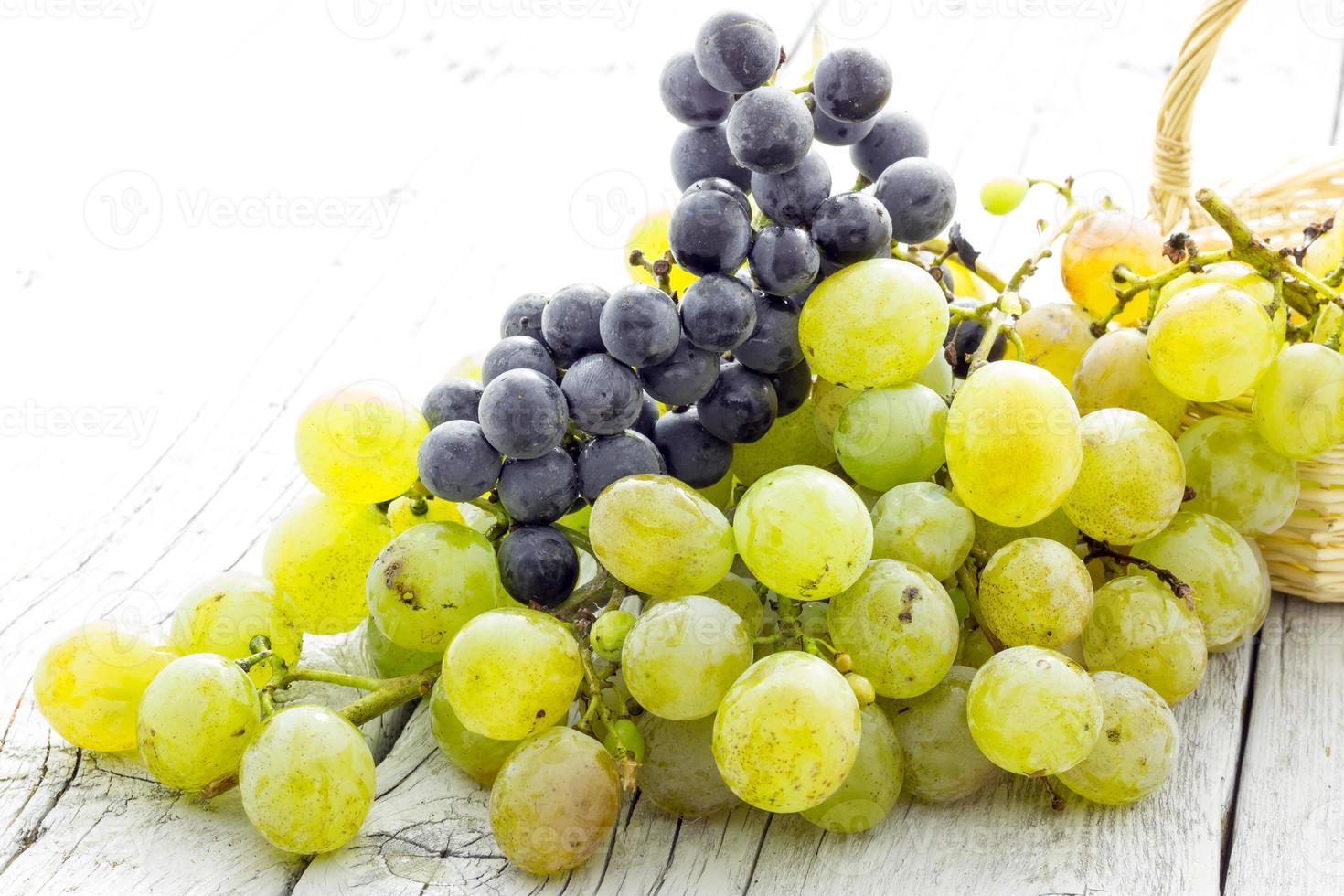 cacho de uvas foto