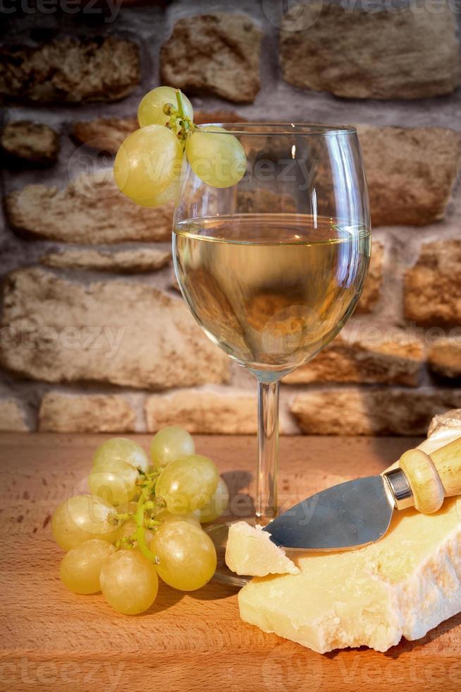 vinho e uvas foto