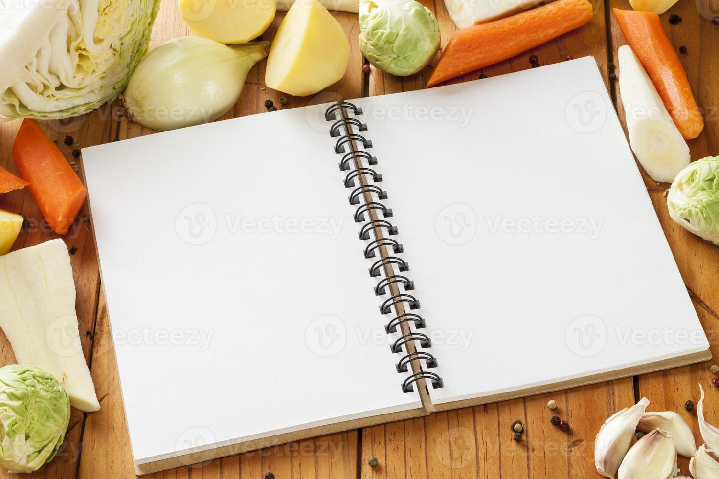 receita de legumes foto