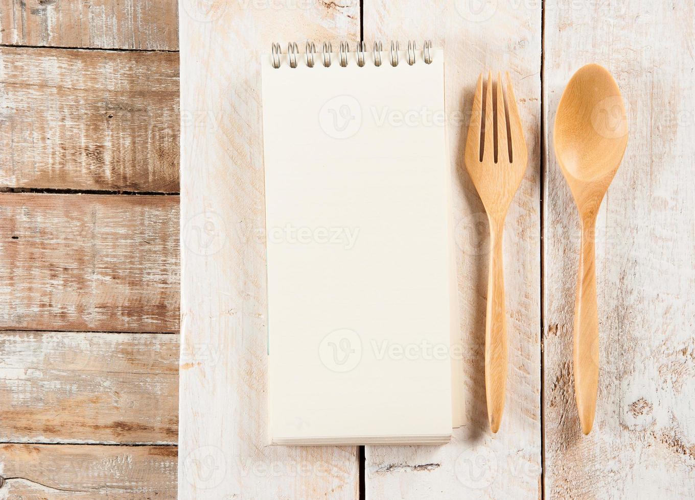 livro de receitas em branco foto