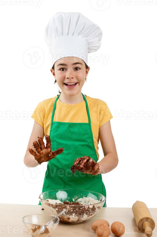 jovem chef foto