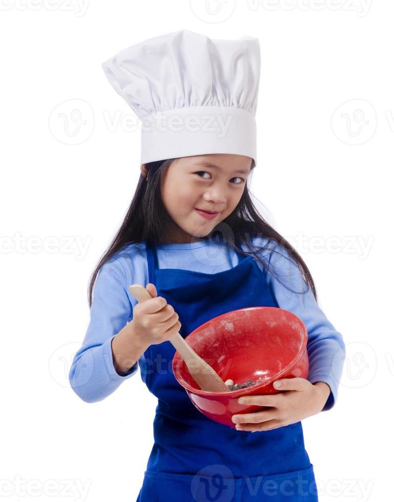 pequenos chefs foto