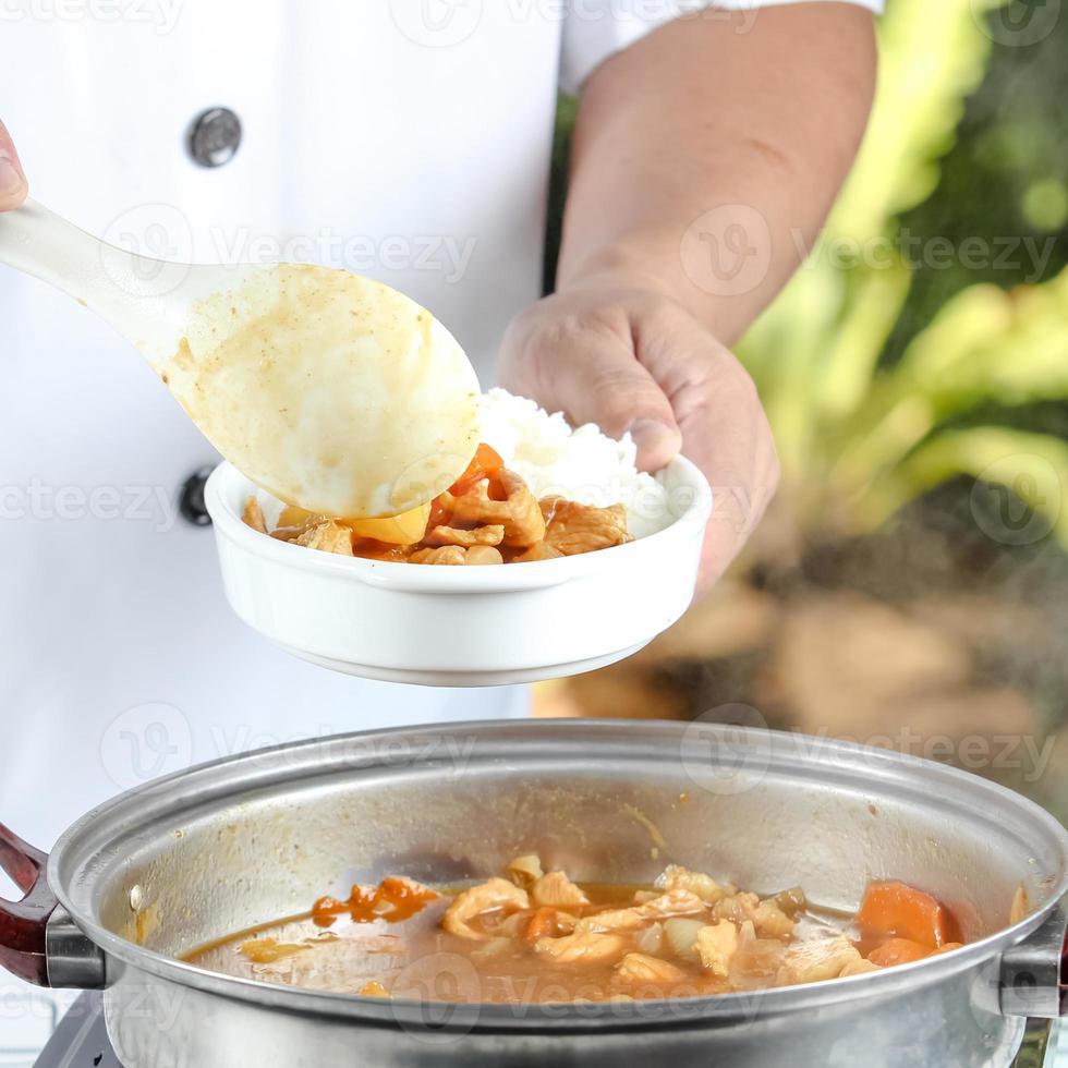 chef de cozinha foto
