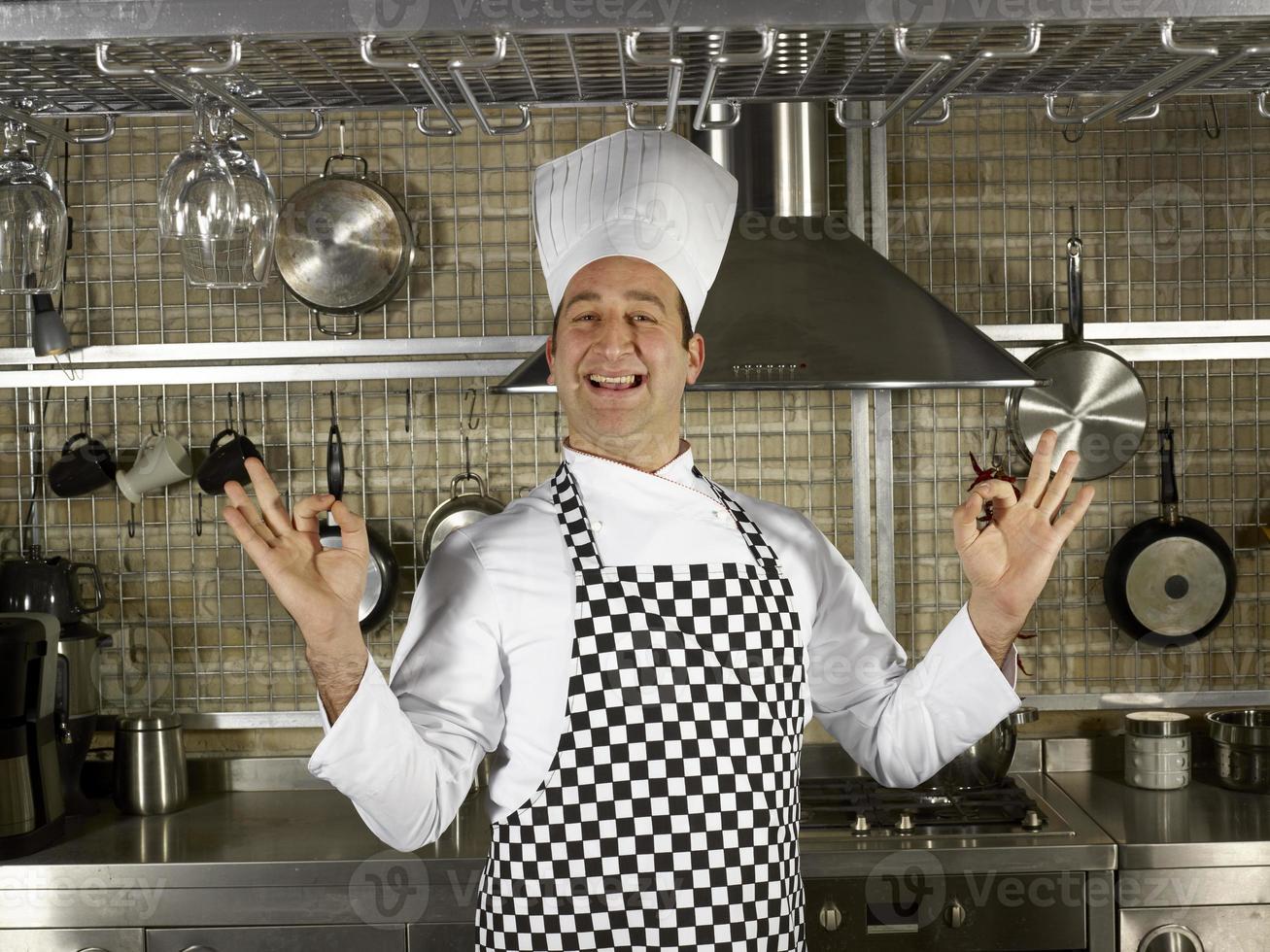 retrato do chef foto