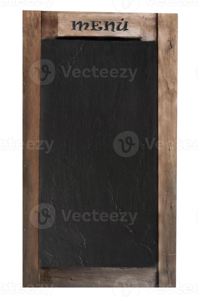 quadro-negro do menu foto