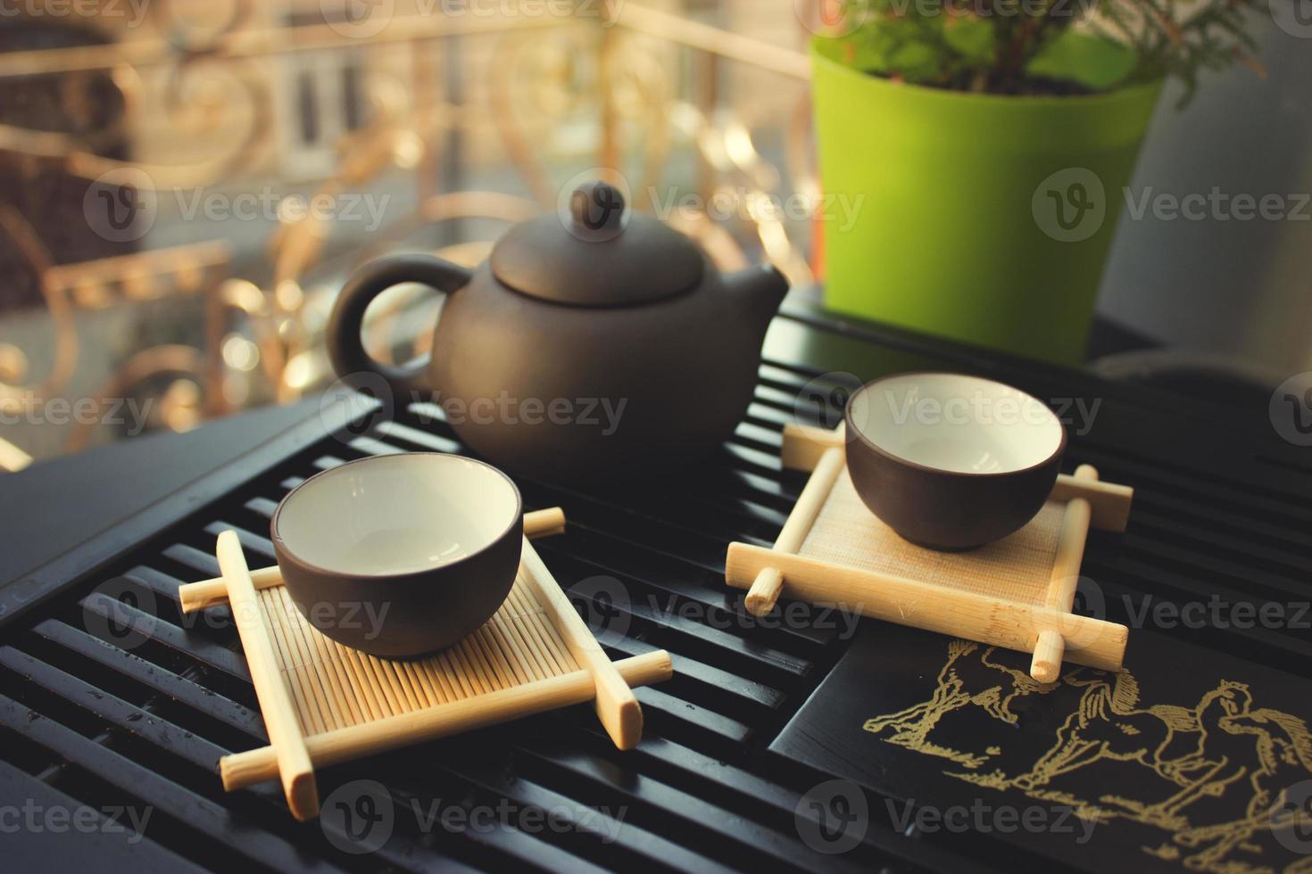 cerimônia do chá foto