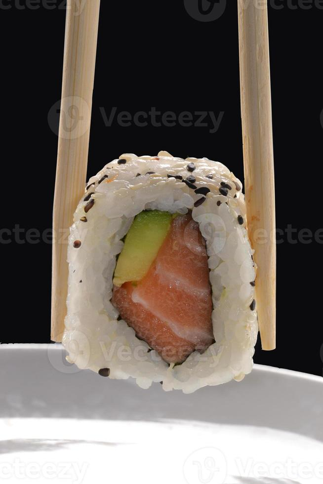 comida japonesa. foto