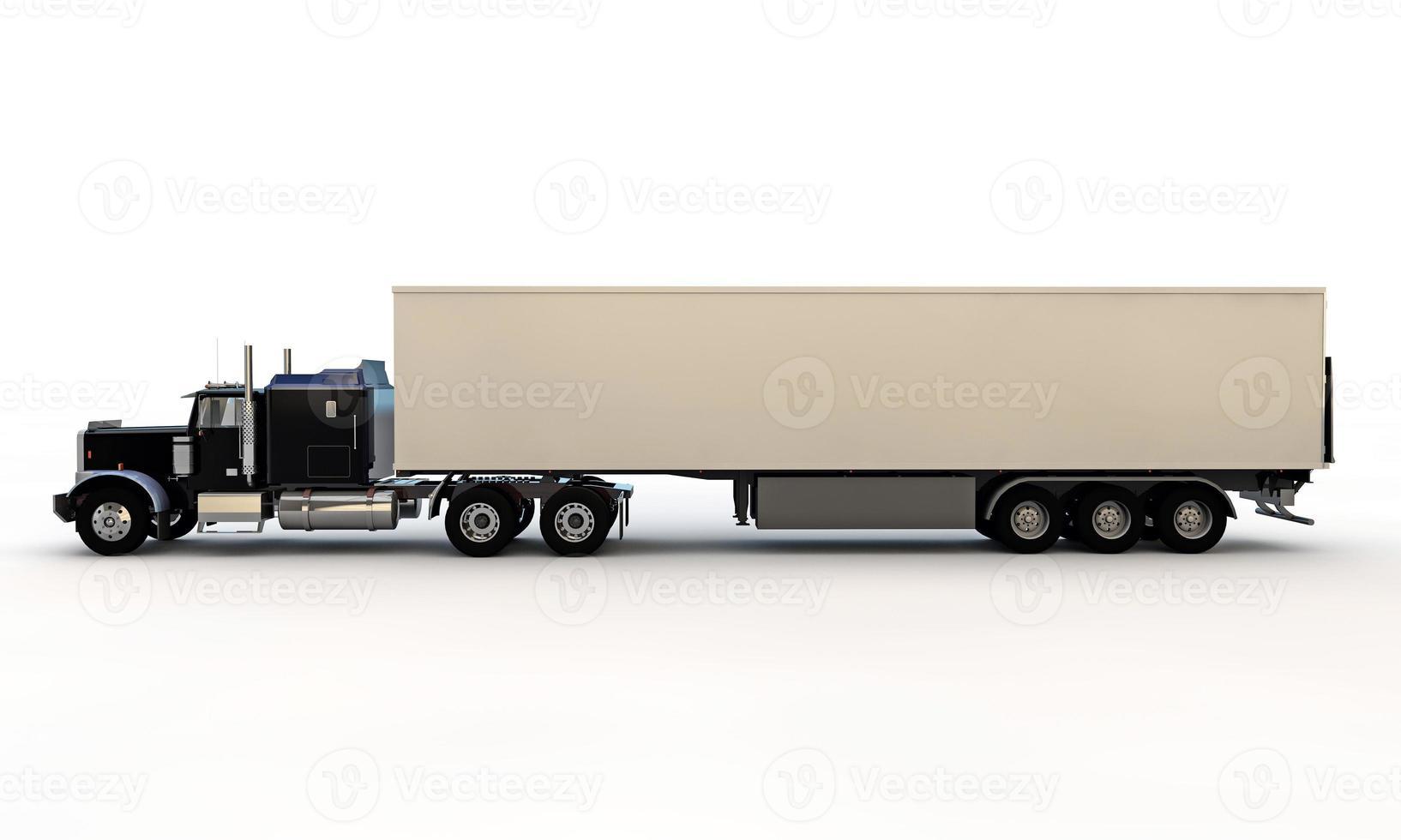 caminhão americano foto