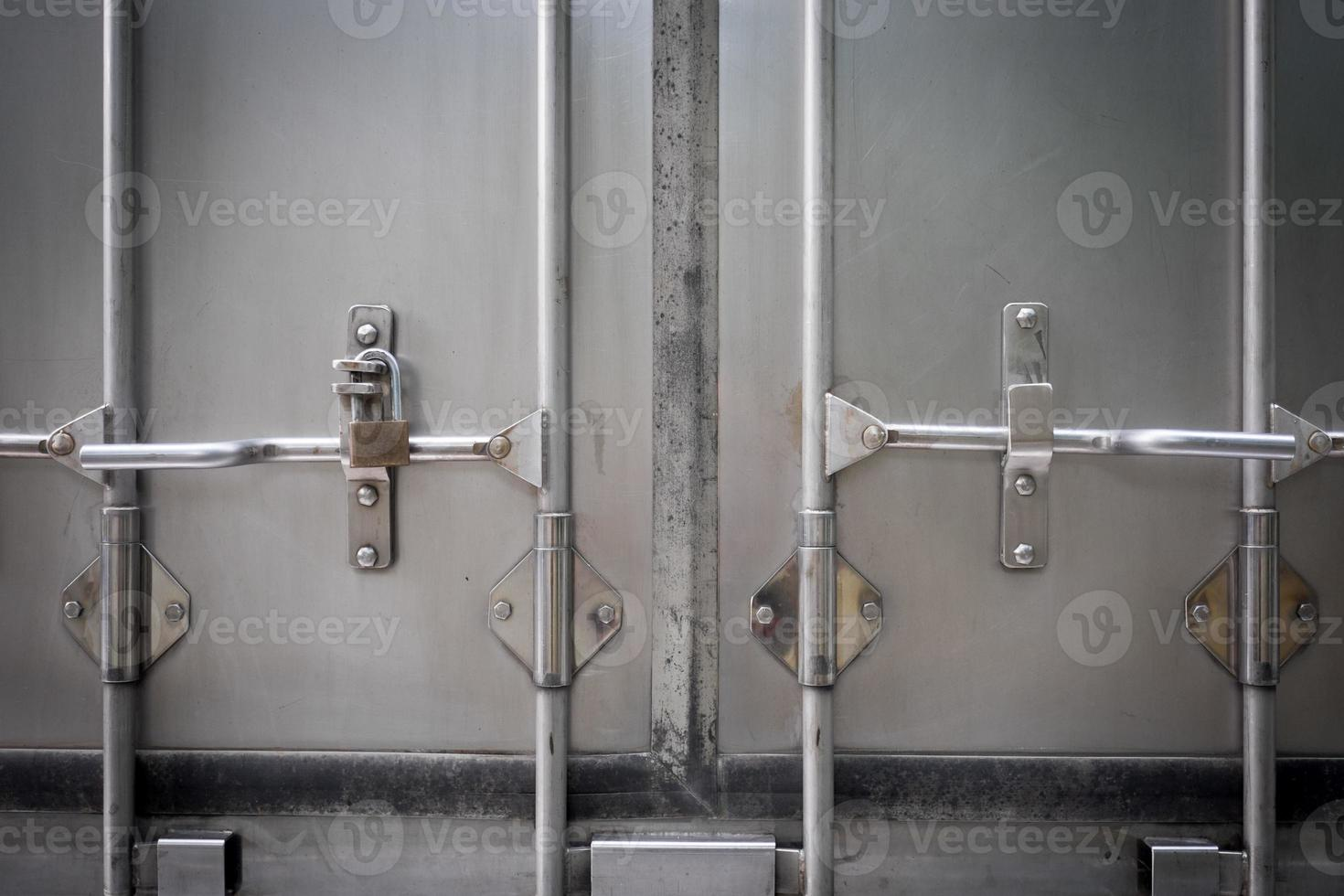porta traseira do caminhão foto
