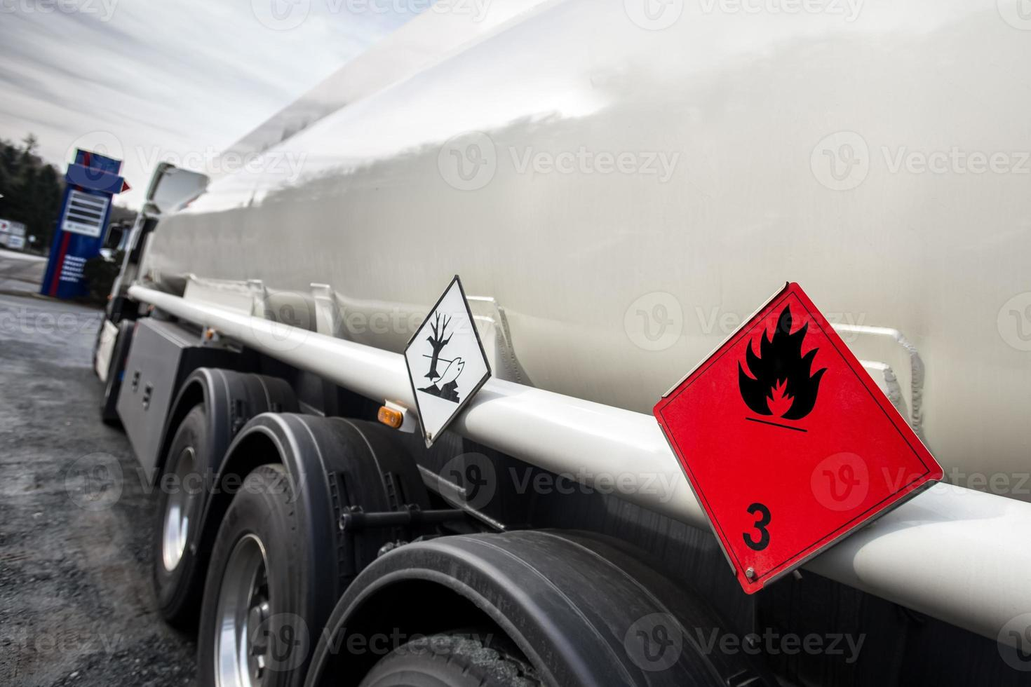 transportador de gasolina foto