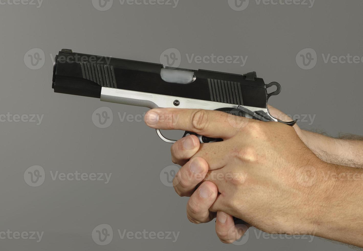 arma de treinamento foto