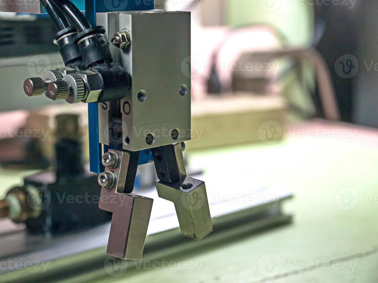 aderência do robô. foto