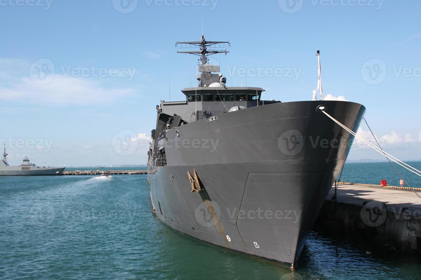 tanque de desembarque da marinha foto