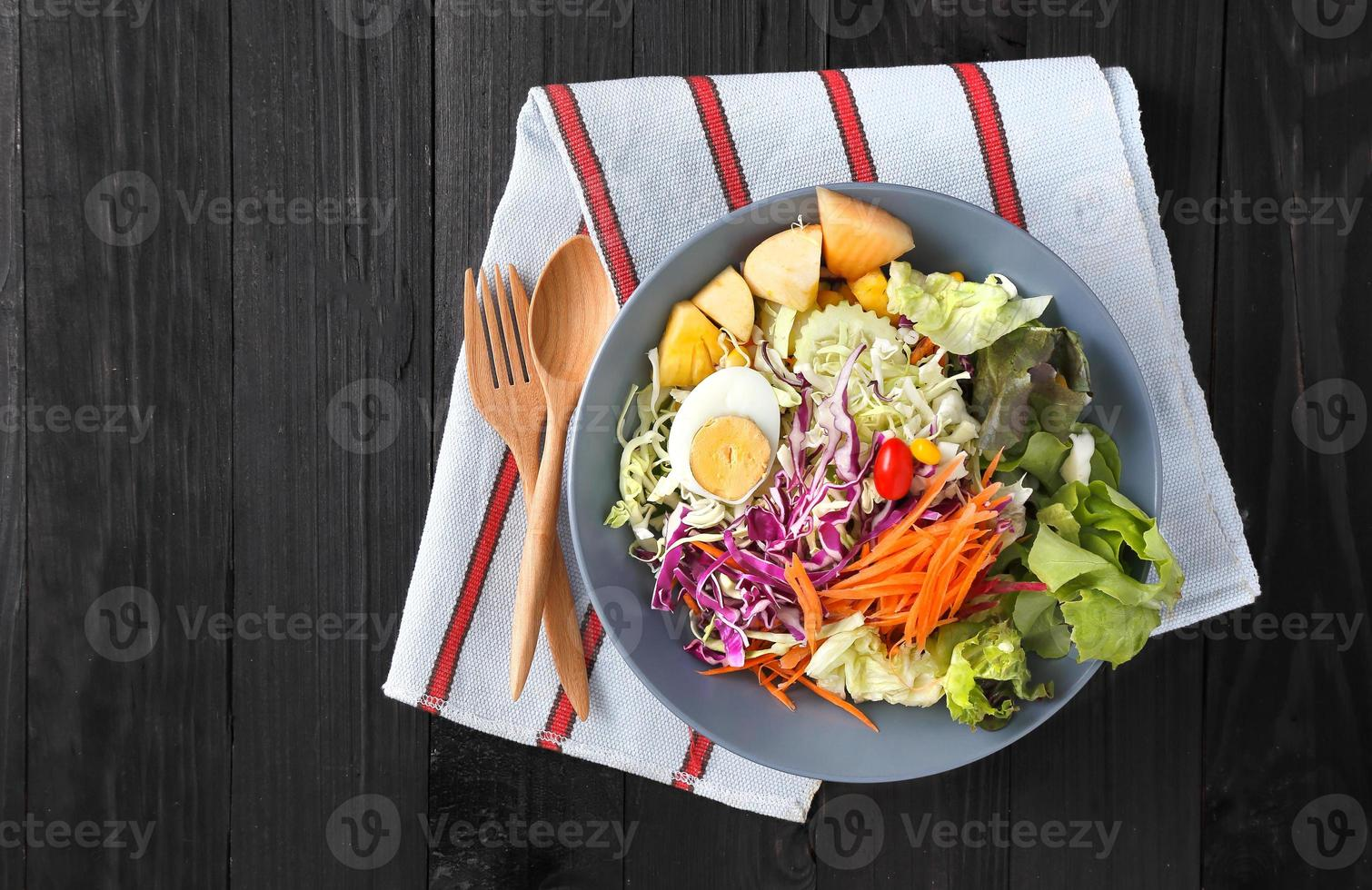 salada de ovo foto