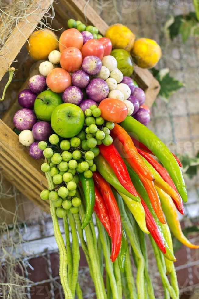 vegetais da tailândia foto