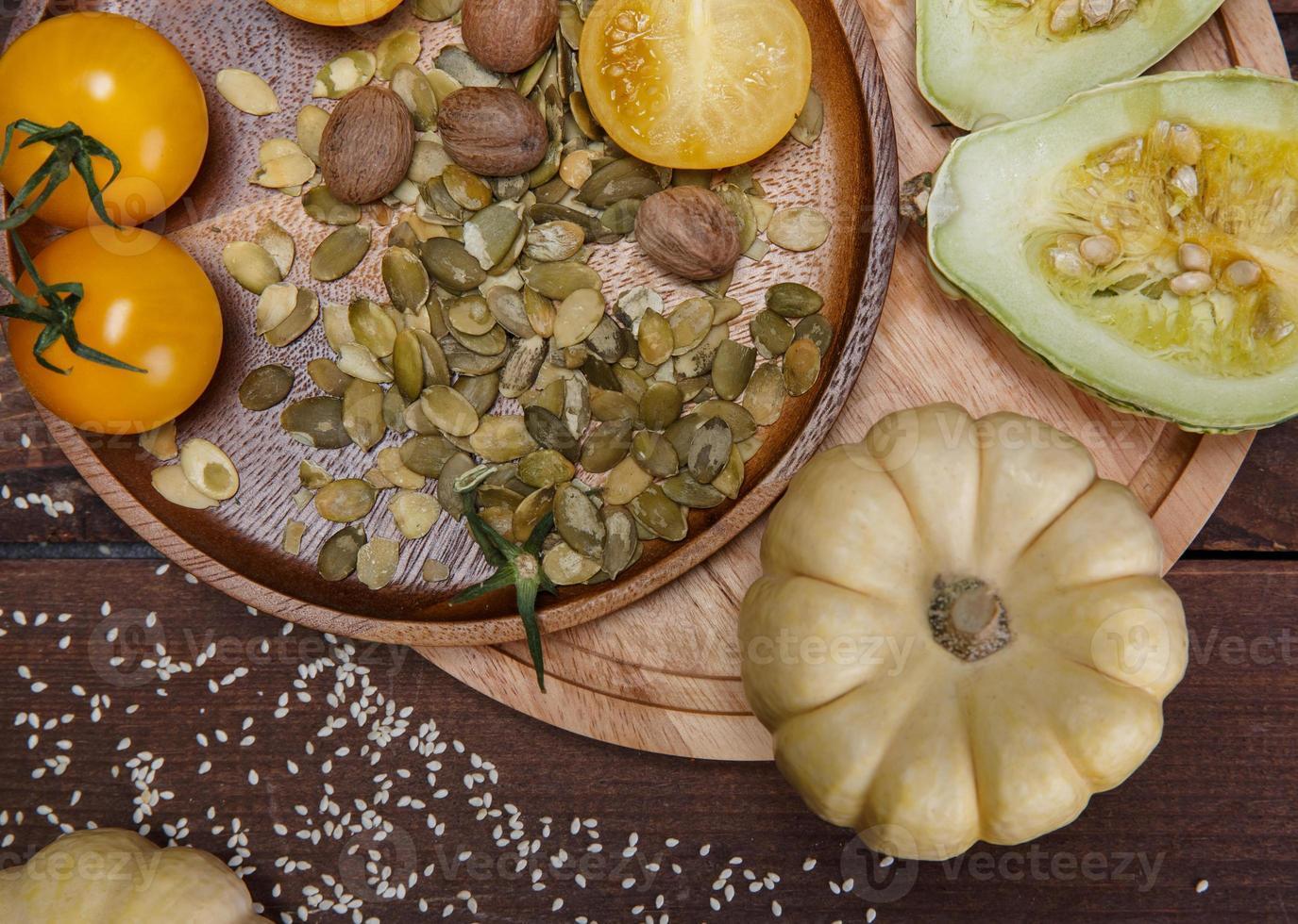 legumes e especiarias foto