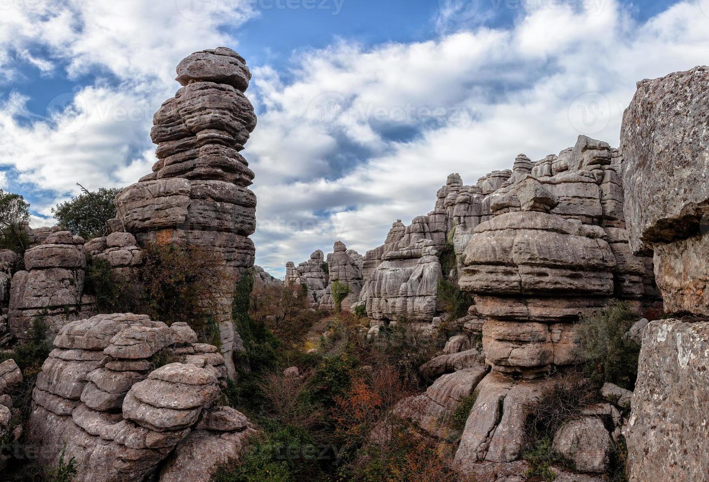 formações rochosas foto
