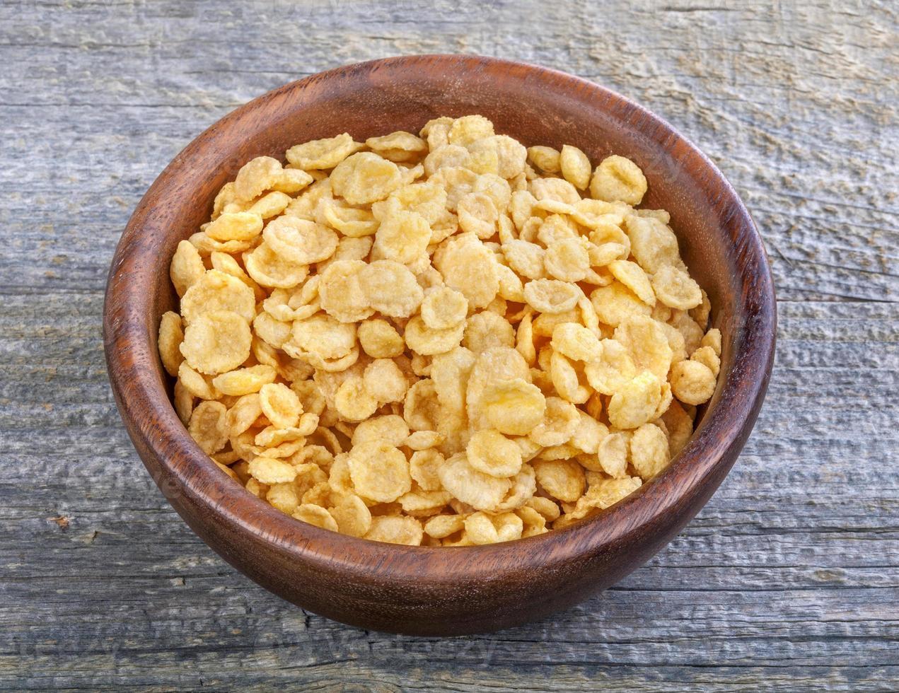 flocos de milho foto
