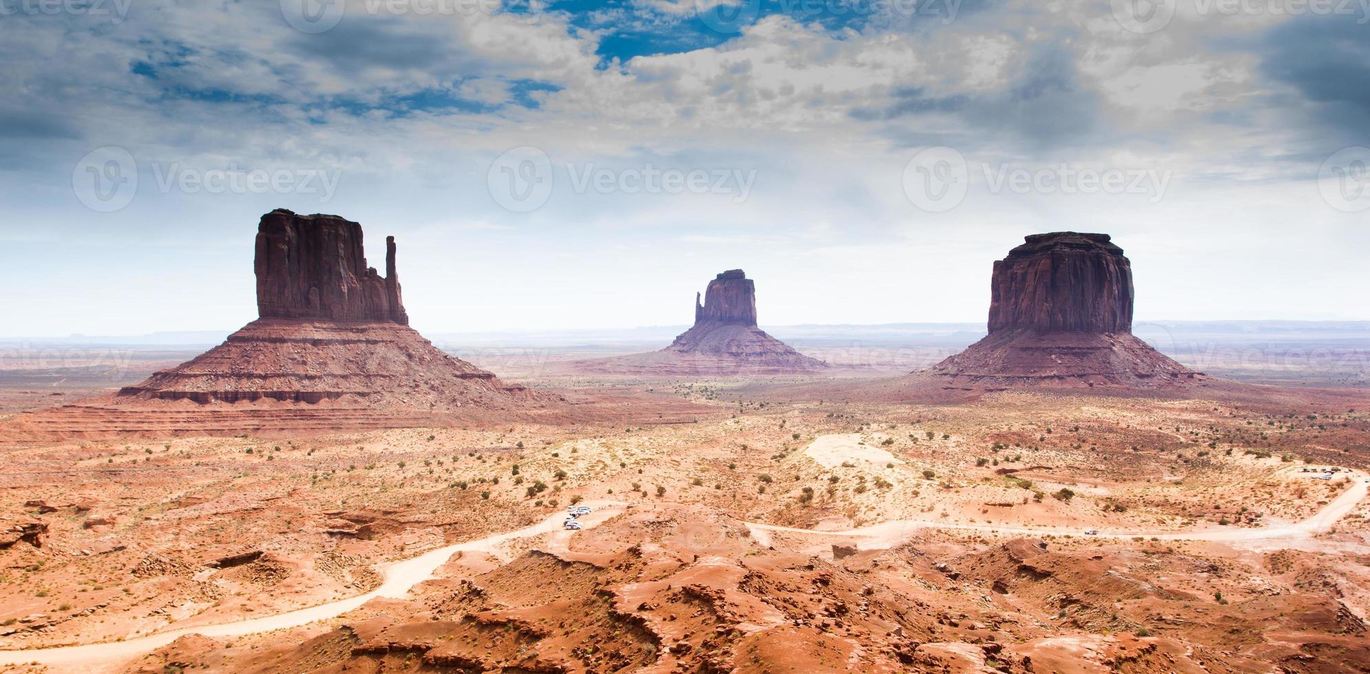 o vale do monumento, scenics, eua foto