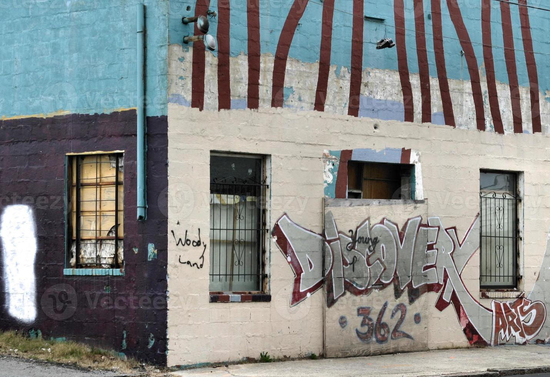 grafite urbano foto
