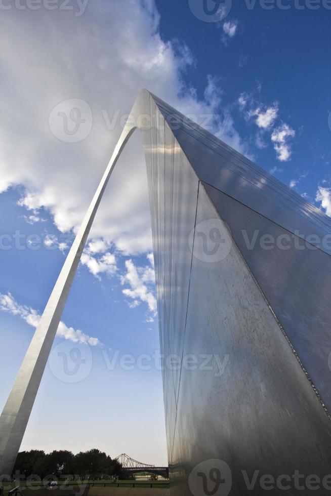 arco do gateway em st. Louis foto
