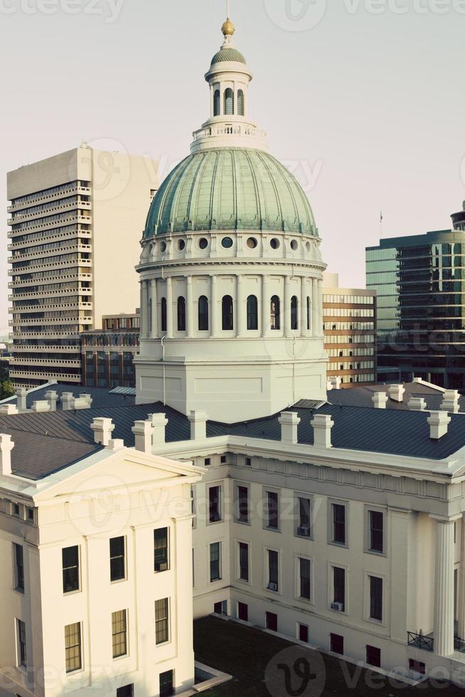 antigo tribunal em st. Louis foto