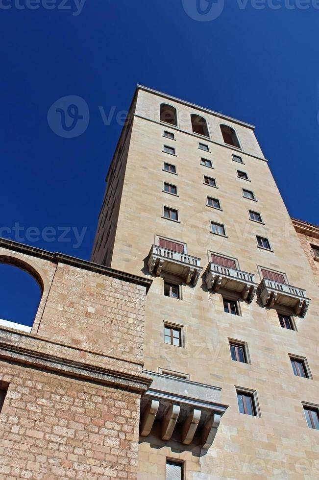 abadia de santa maria de montserrat, catalunha, espanha foto