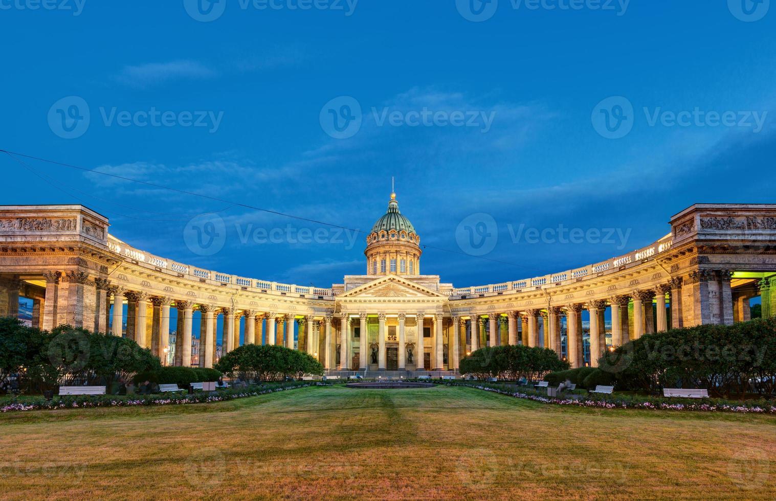Catedral de Kazan em São Petersburgo, Rússia foto