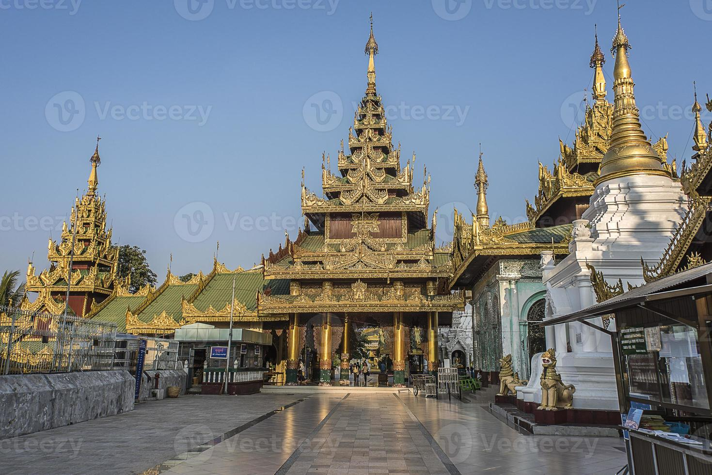 pagode shwedagon yangon foto