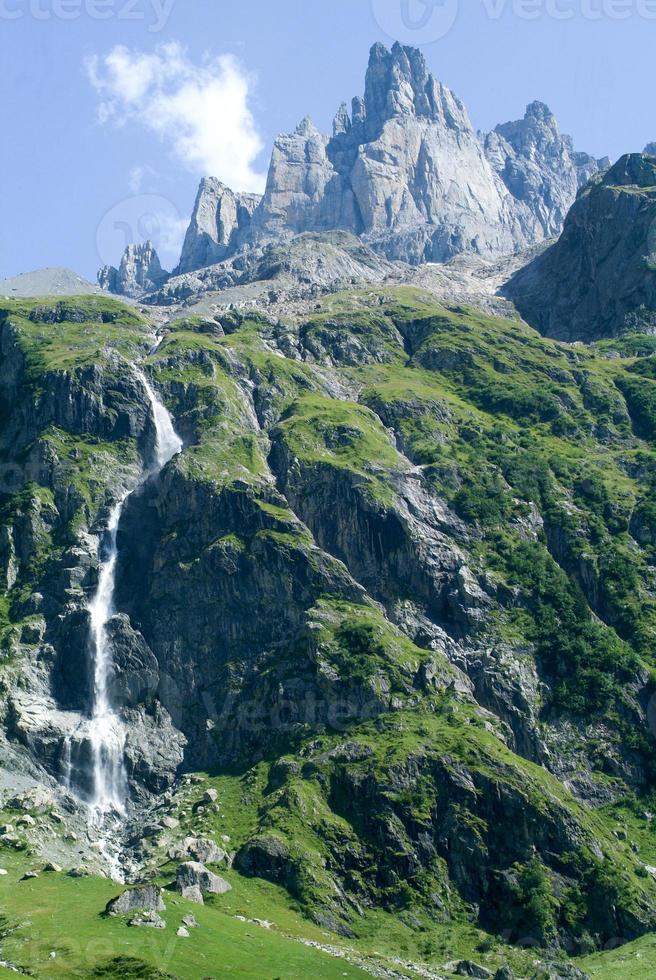 paisagem em engelberg foto
