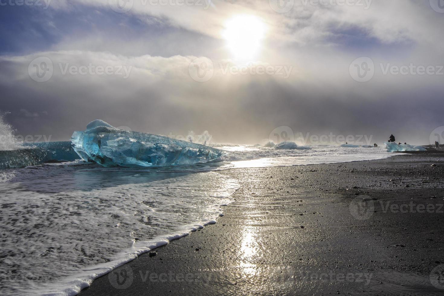 paisagem da islândia foto