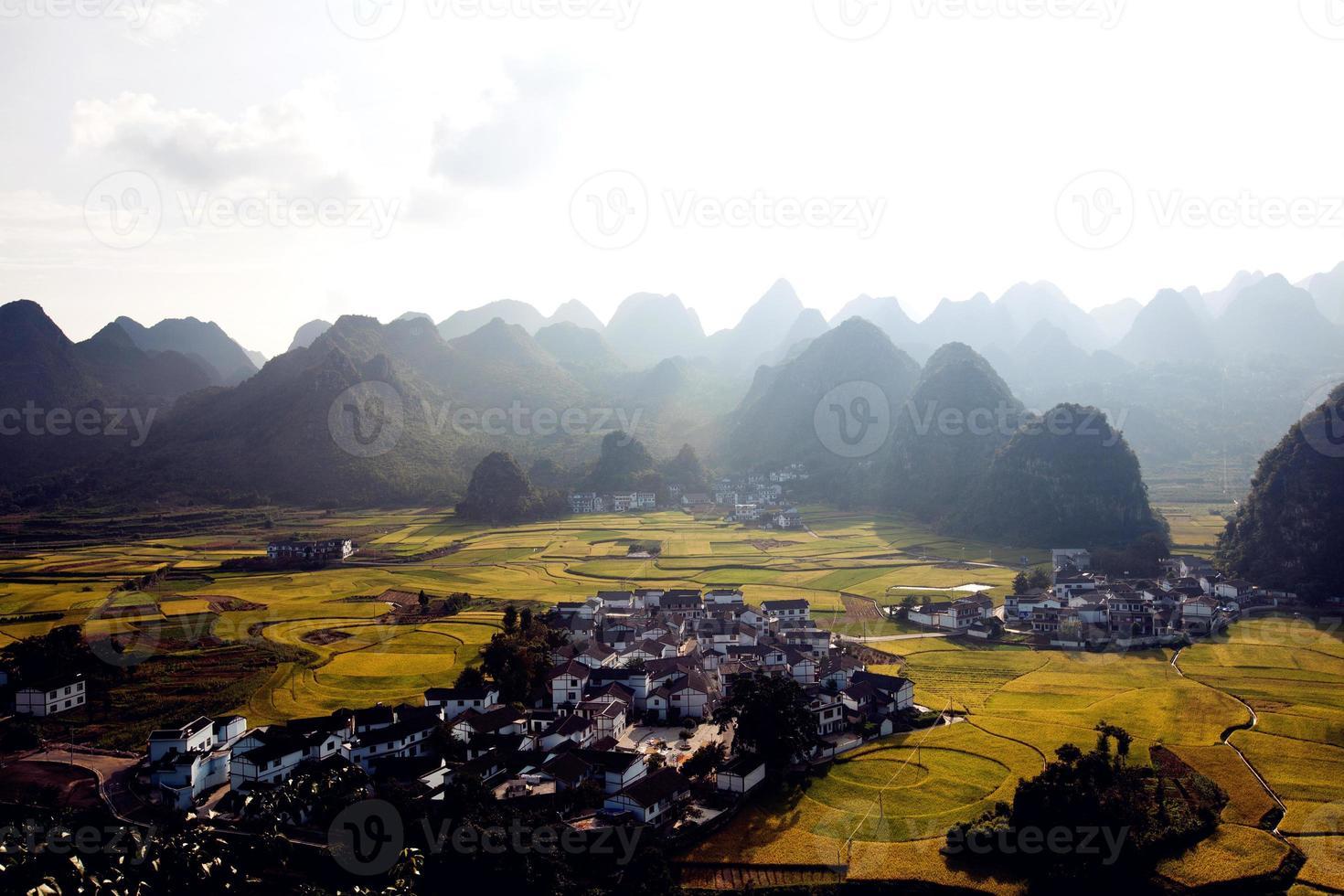 paisagem na china foto